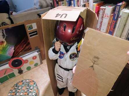 cardboard spaceship 3